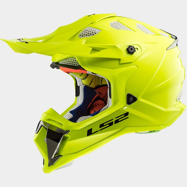 CASCO LS2 - POLICARBONO - MX470 SUBVERTER SOLID H-V YELLOW