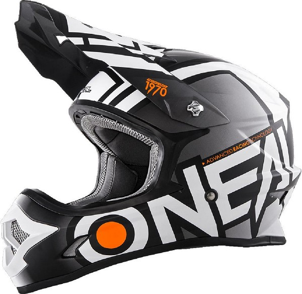 CASCO ONEAL 3 SERIES RADIUM BLACK/WHITE
