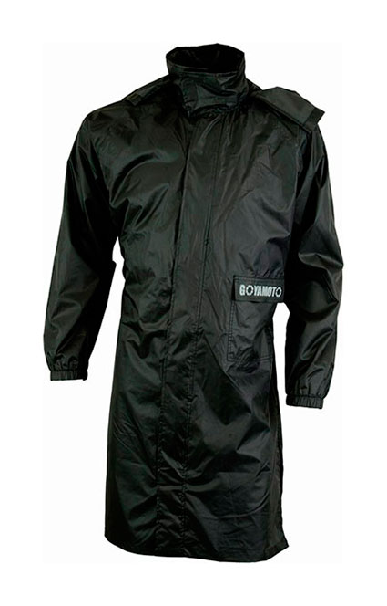 ABRIGO (CHAQUETA LARGA) IMPERMEABLE CON REFLECTANTES