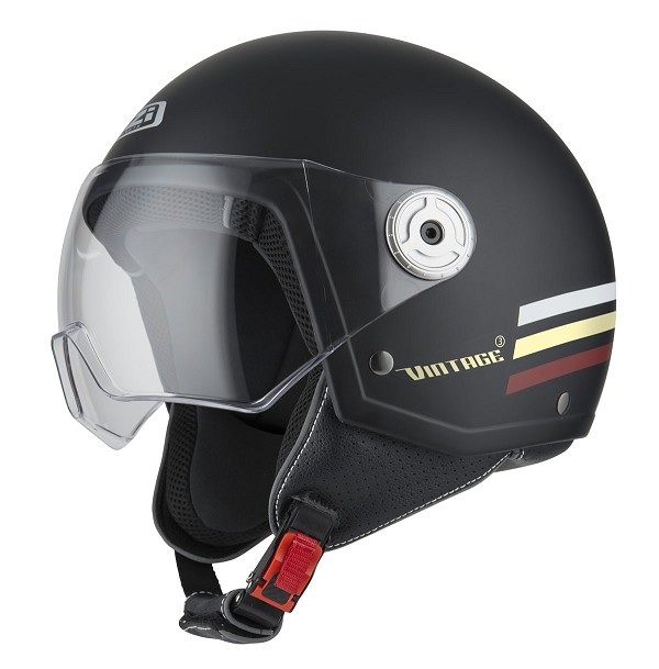 CASCO NZI VINTAGE 3 TRIBAND BLACK&BURGUNDY