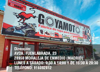 Goyamotos-Kangroute Boutique de Motoristas en Madrid