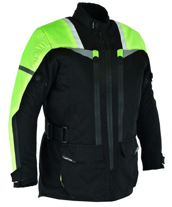MOTORCYCLE CORDURA JACKET WITH PROTECTION CE 3/4 FOR CHILDRENS