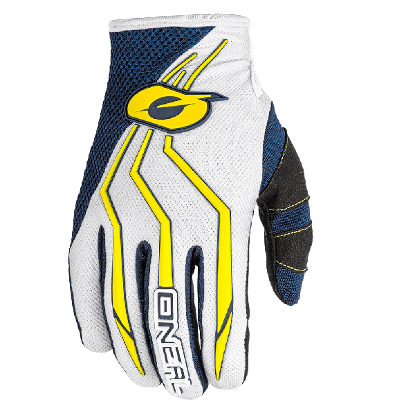 GUANTE ONEAL ELEMENT BLUE/YELLOW
