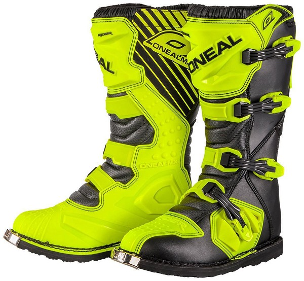 BOTA RIDER BOOT NEON YELLOW ONEAL