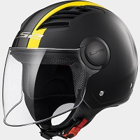 OF562 AIRFLOW L METROPOLIS MATT BLACK H-V YELLOW